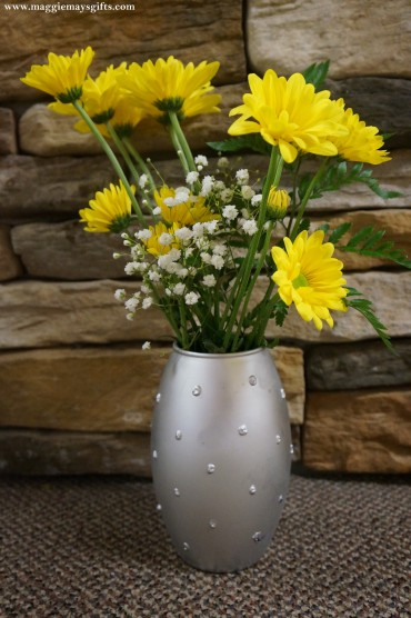 DIY Milk Glass Vases