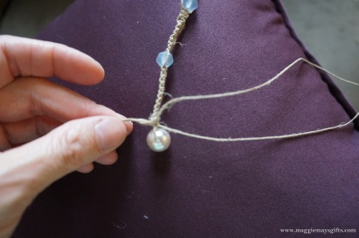 pearl bead clasp