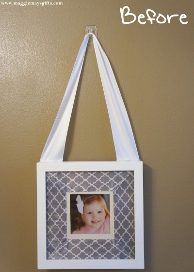 Make your own hanging picture frames