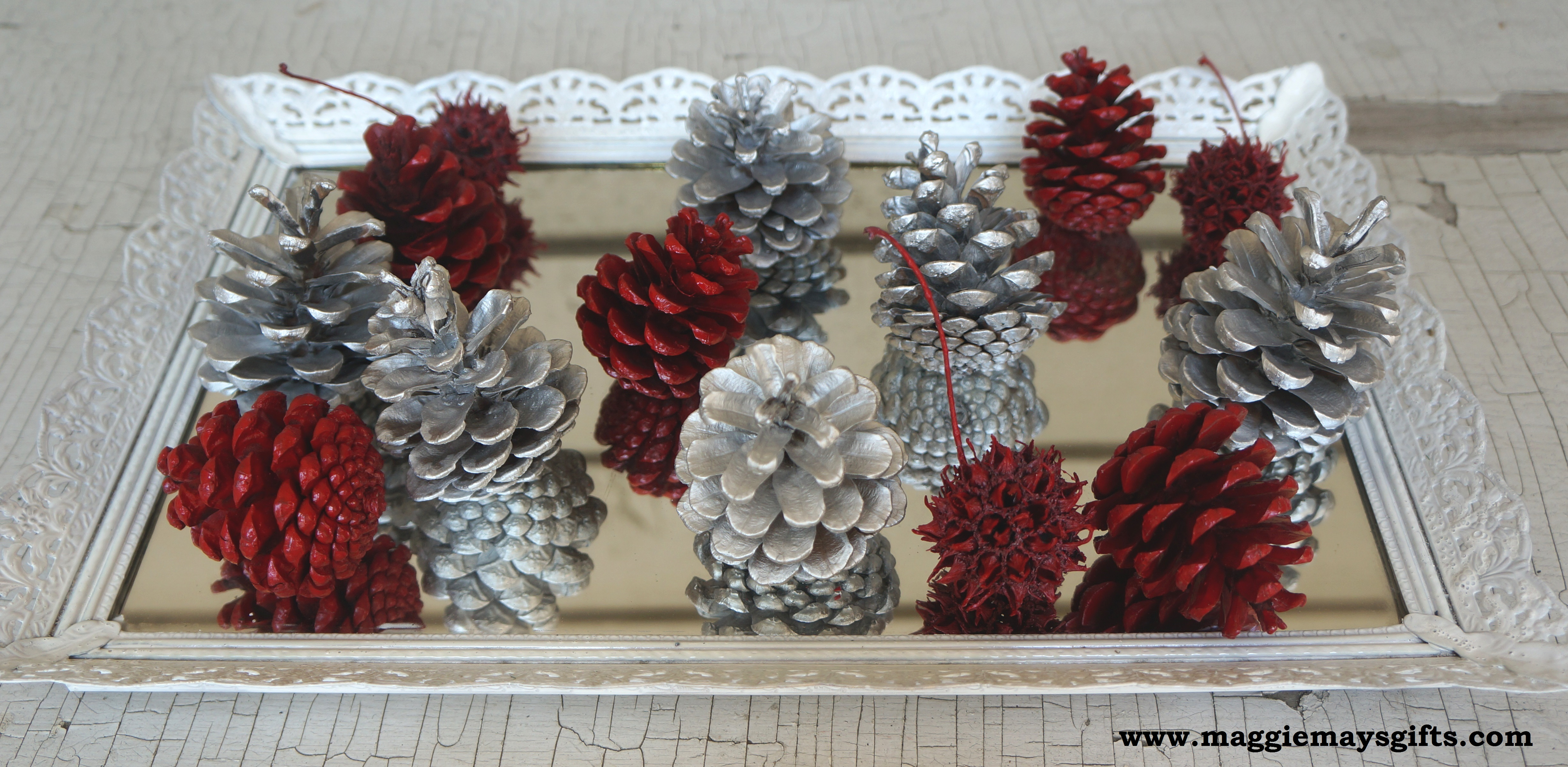 pine cone holiday projects maggie may 39 s. Black Bedroom Furniture Sets. Home Design Ideas