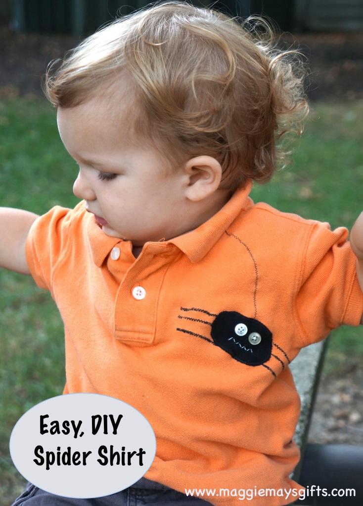 Spider Shirt Halloween