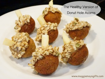 healthy donut hole acorns