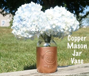Copper Mason Jar