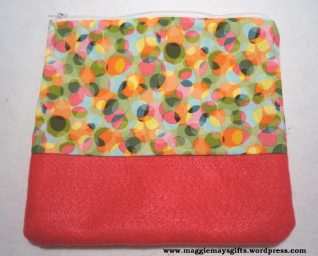 make your own zipper bag
