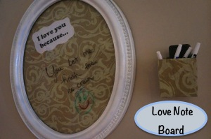 love note board