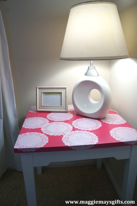 New ways to use doilies