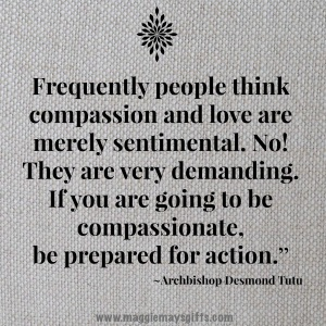 Compassion is action
