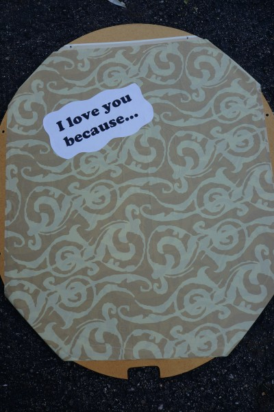 Make a Love Note Board