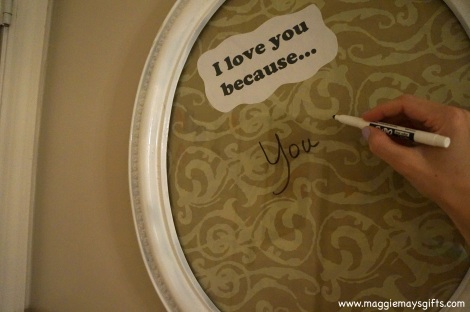 Make a Love Note Board