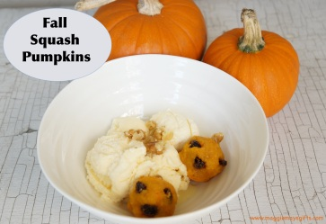 Make squash pumpkin treats