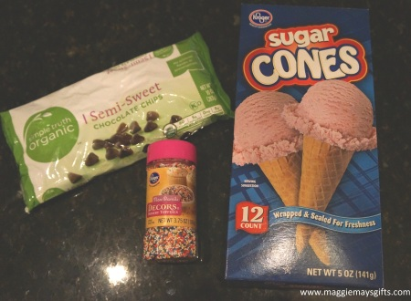 ice cream cone ingredients
