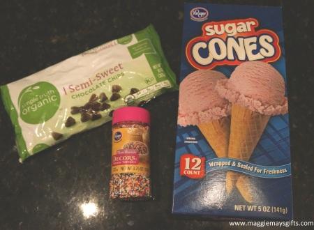 ice cream cone ingredients