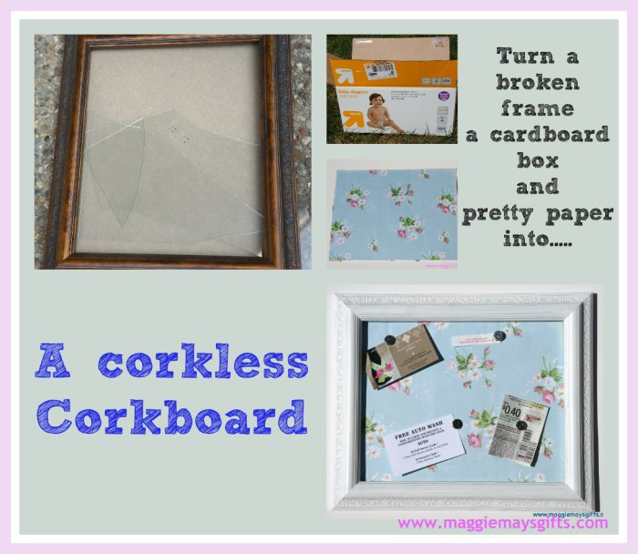 corkboard collage