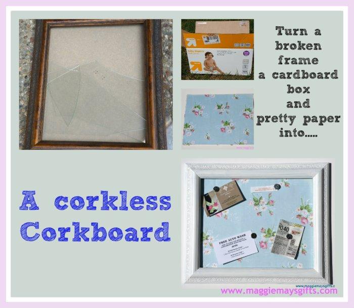 corkboard collage