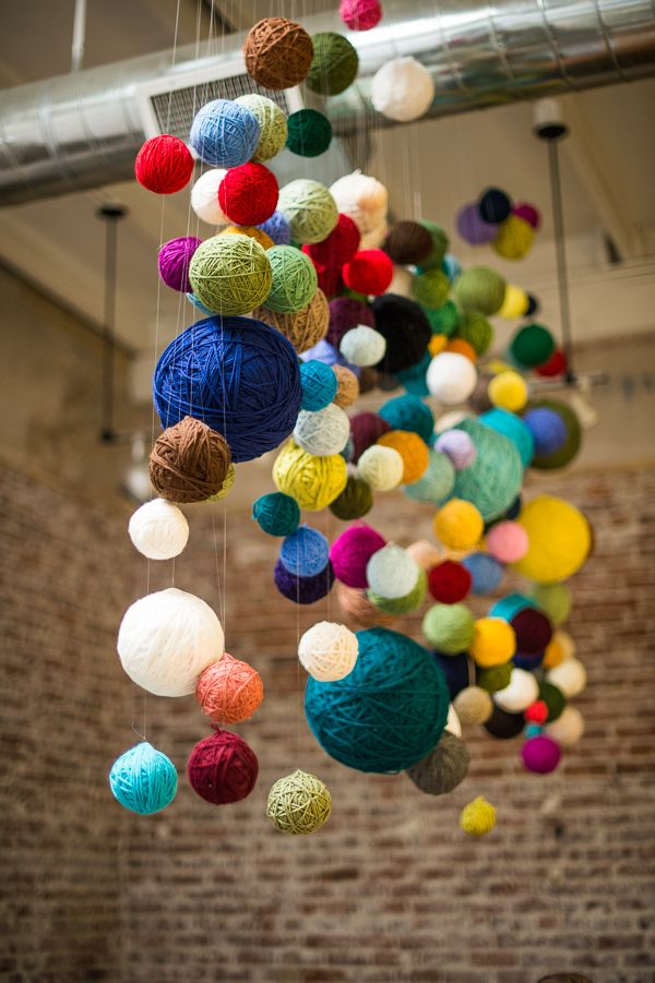 yarn balls inspired by this