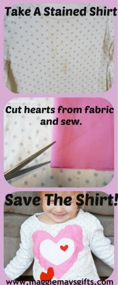 save a stained shirt collage
