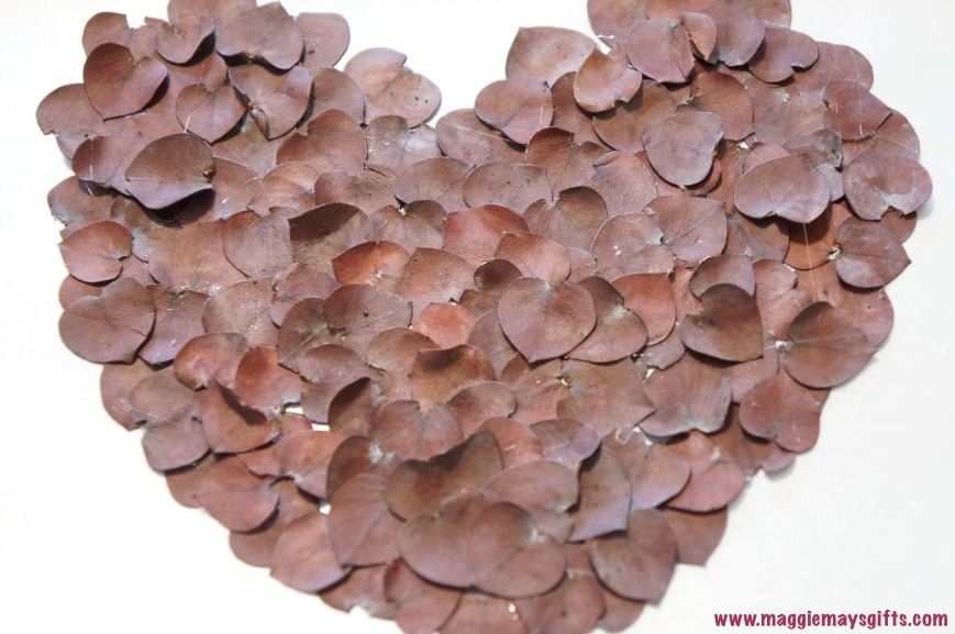 eucalyptus heart decor