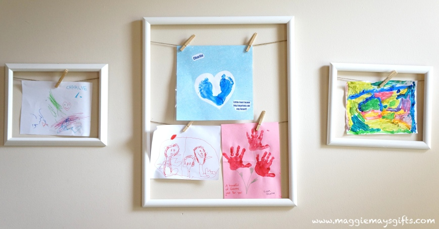 Frames to Display Kids' Artwork