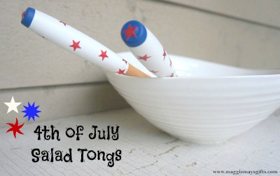 Maggie May's Gifts July 4th Salad Tongs