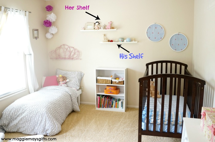 shelves kids room