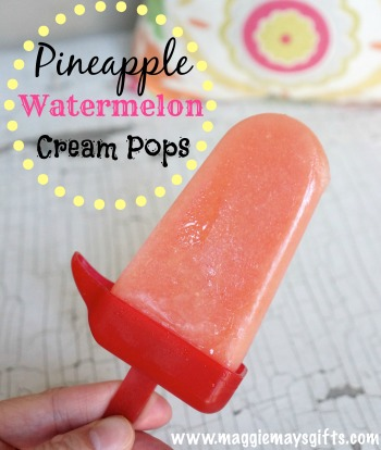 pineapple watermelon pops