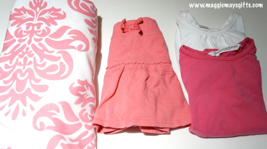 Upcycling kids clothes using outgrown items