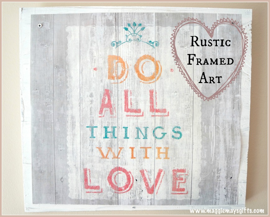 Rustic Framed Art