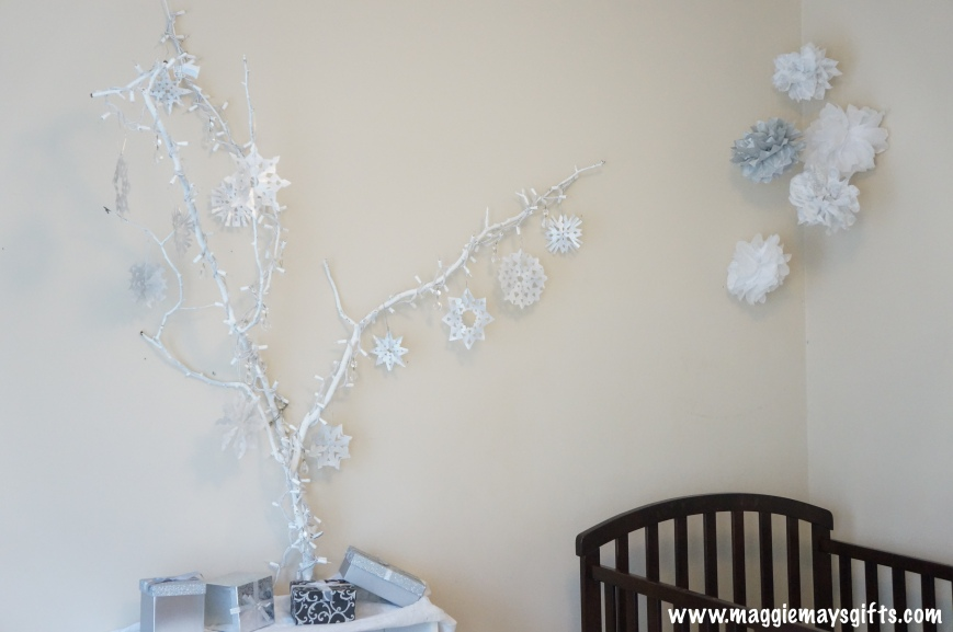 Create a winter wonderland