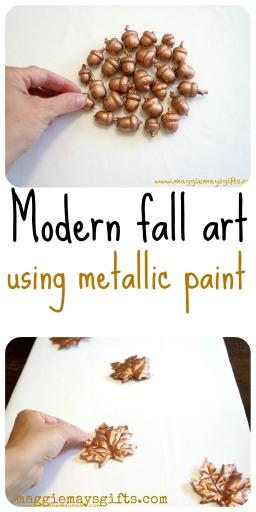 modern fall art
