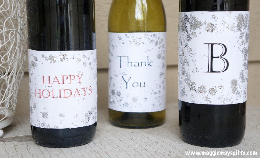 make wine bottle labels