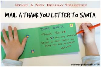 thank you to santa