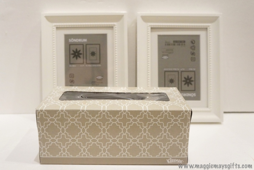 Maggie May's Kleenex decoration- box and frames