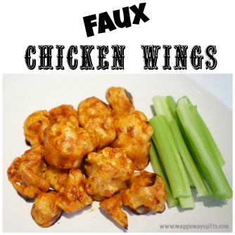 faux chicken wings