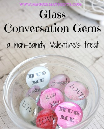 Make non-candy conversation hearts www.maggiemaysgifts.com