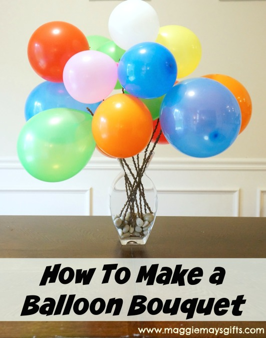 How to Make a Balloon Bouquet