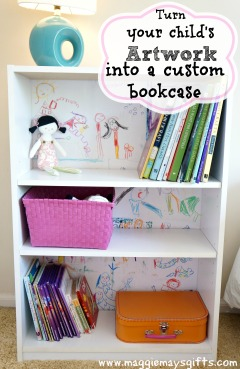 Turn-your-kids-artwork-into-a-custom-bookcase