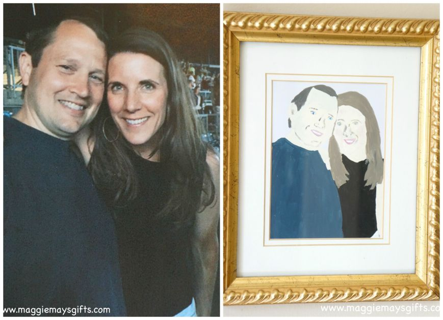 paint your family photos for fun