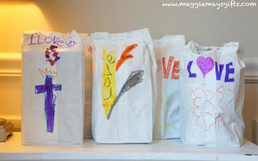 make a love bag for the homeless