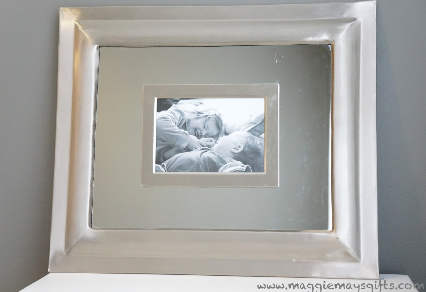 how to make a picture frame mirror